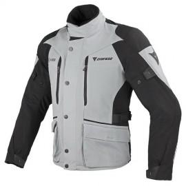 Pánská moto bunda Dainese TEMPORALE D-DRY šedá/černá, textilní
