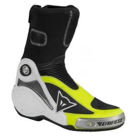 Motocyklové boty Dainese AXIAL PRO IN černá/fluo žlutá (pár)